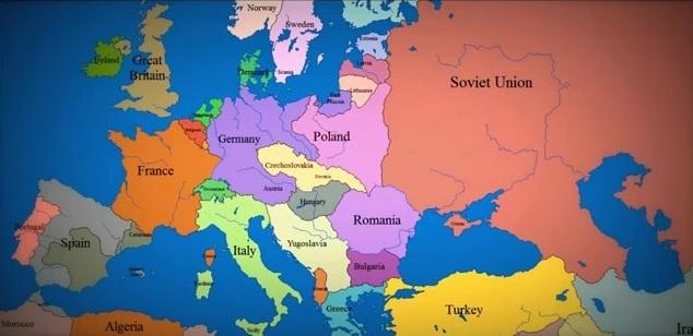 Επικός» χάρτης της ευρώπης (1000 χρόνια